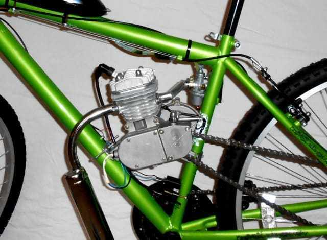 gas powered motors for bicycles